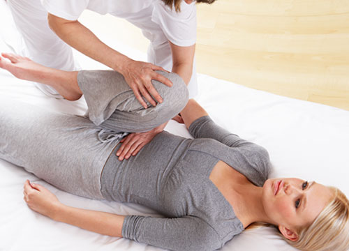Shiatsu massage therapy